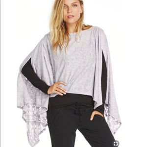 Fabletics | Lily Convertible Scarf Poncho Wrap OS
